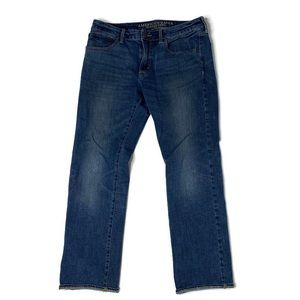 American Eagle Original Straight Blue Jeans